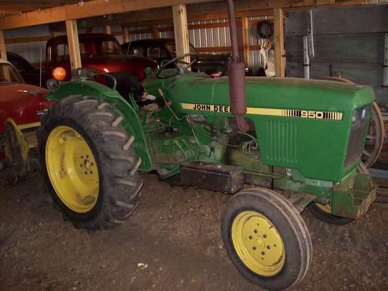 John Deere 950 Tractor Seat : John deere tractors utility hp