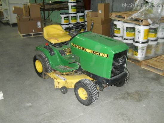 John Deere 165 Hydro Parts : John deere riding lawn mower hydro garden and