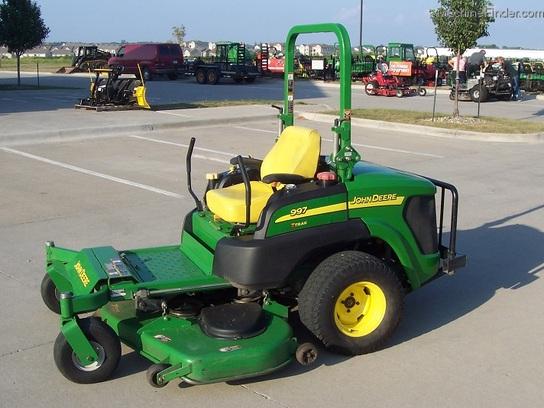 John Deere Rear Bumper : John deere quot diesel z trak mower with rear