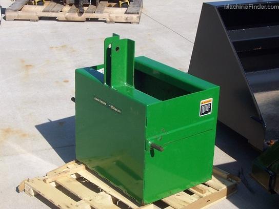Tractor Ballast Box : John deere ballast box for cat i three point hitch