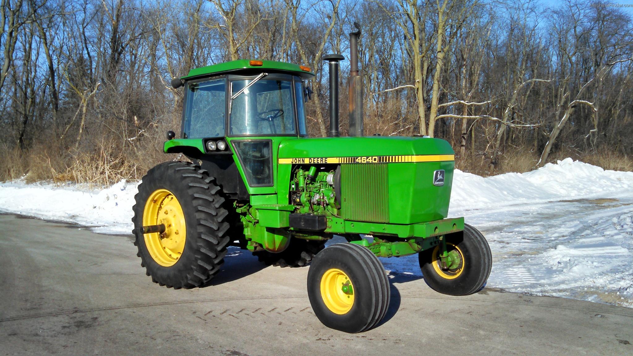1979 John Deere 4640 Tractors - Row Crop   100hp