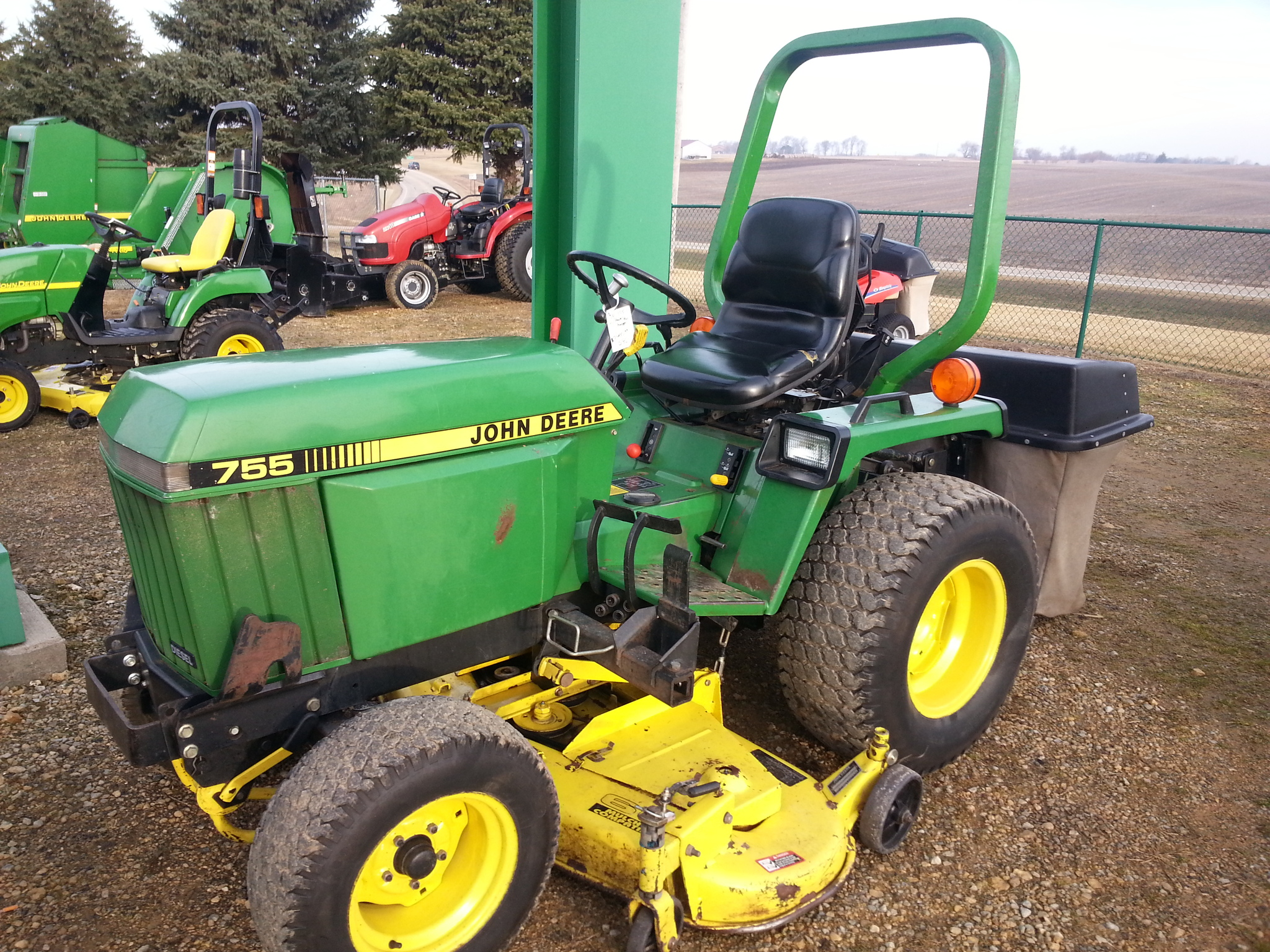 john deere 755 compact utility tractors for sale 56786. Black Bedroom Furniture Sets. Home Design Ideas