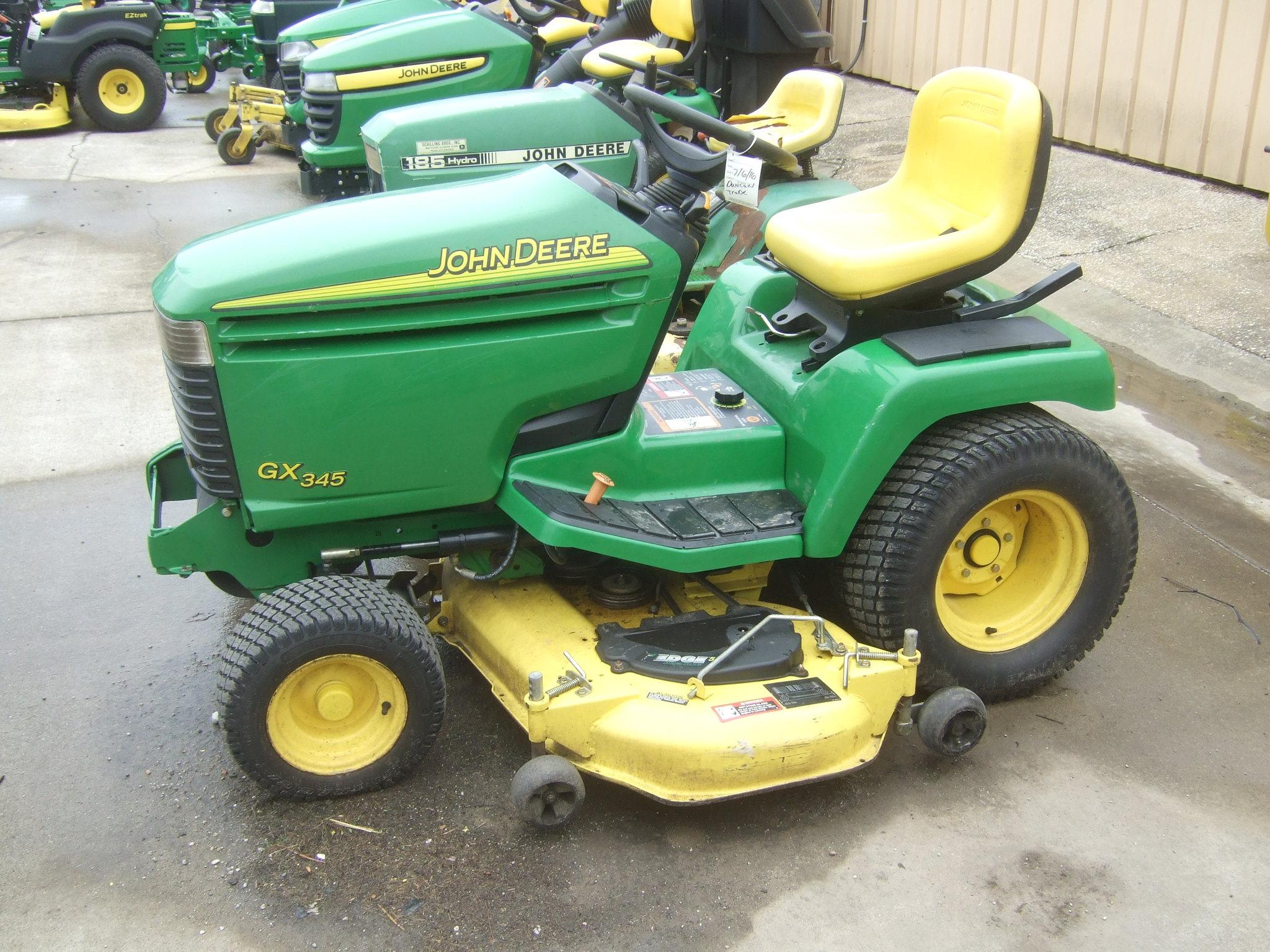 John Deere GX345 Lawn & Garden Tractors for Sale | [61094]