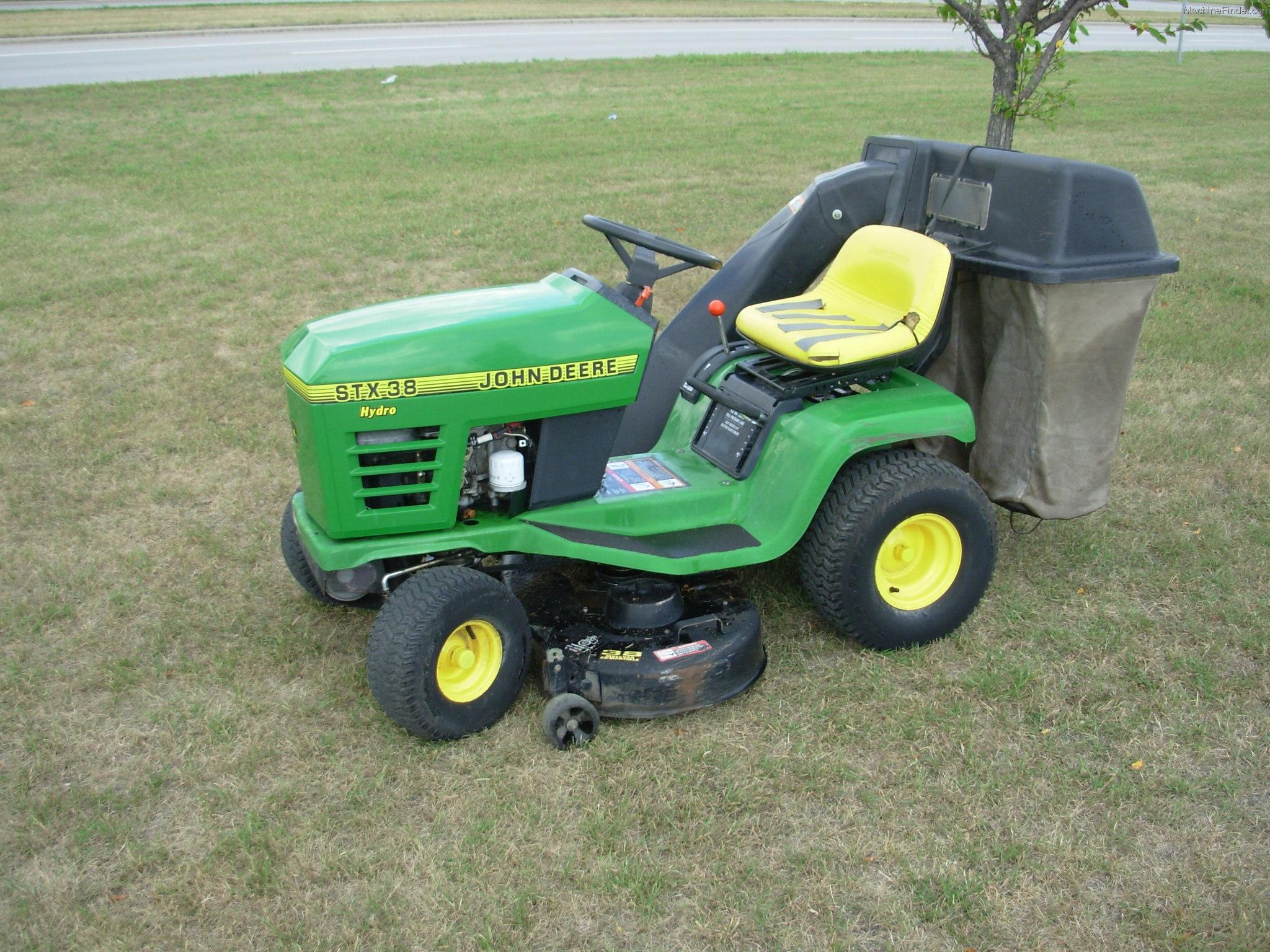 John Deere Stx 38 : John deere stx lawn garden and commercial mowing