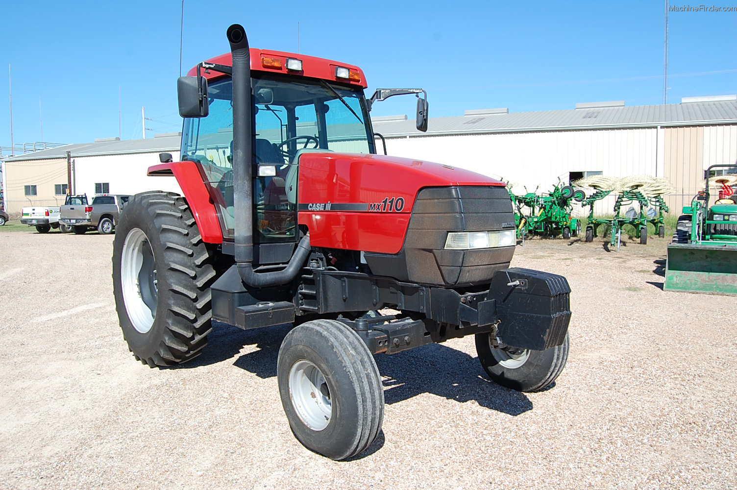 Case Tractor Mx110 : Case ih mx tractors compact hp john