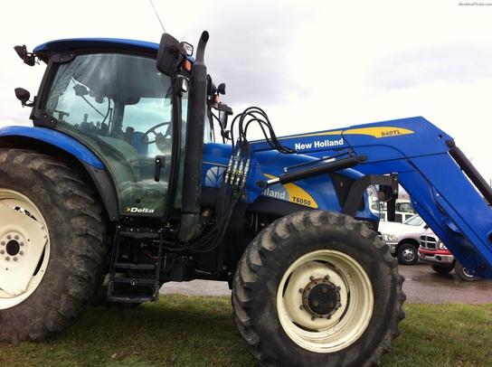2007 New Holland T6050 DELTA Tractors - Row Crop (+100hp) - John Deere MachineFinder