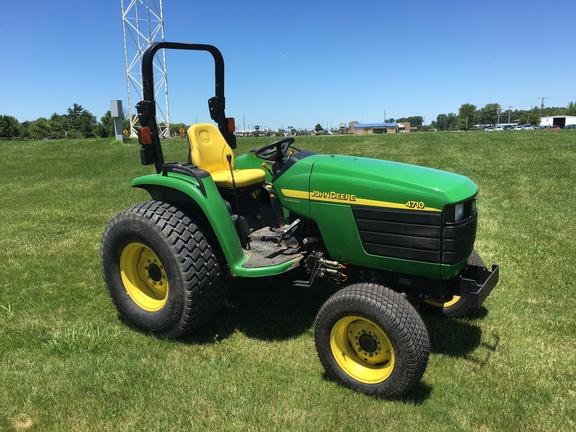 John Deere 4710 Compact Tractor : John deere compact utility tractors reynolds farm