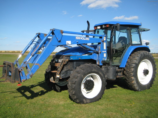 2003 New Holland TM155