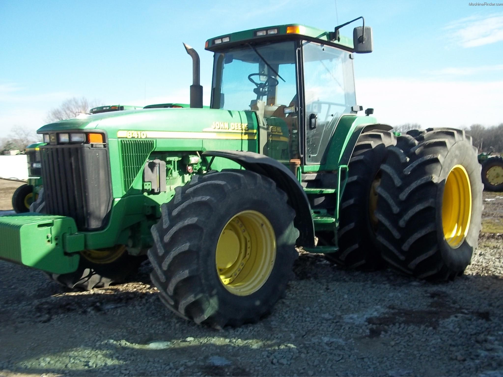 2001 john deere 8410 tractors row crop 100hp john for 8410 3