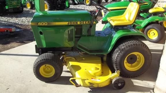 John Deere 400 Garden Tractor Attachments : John deere lawn garden tractors