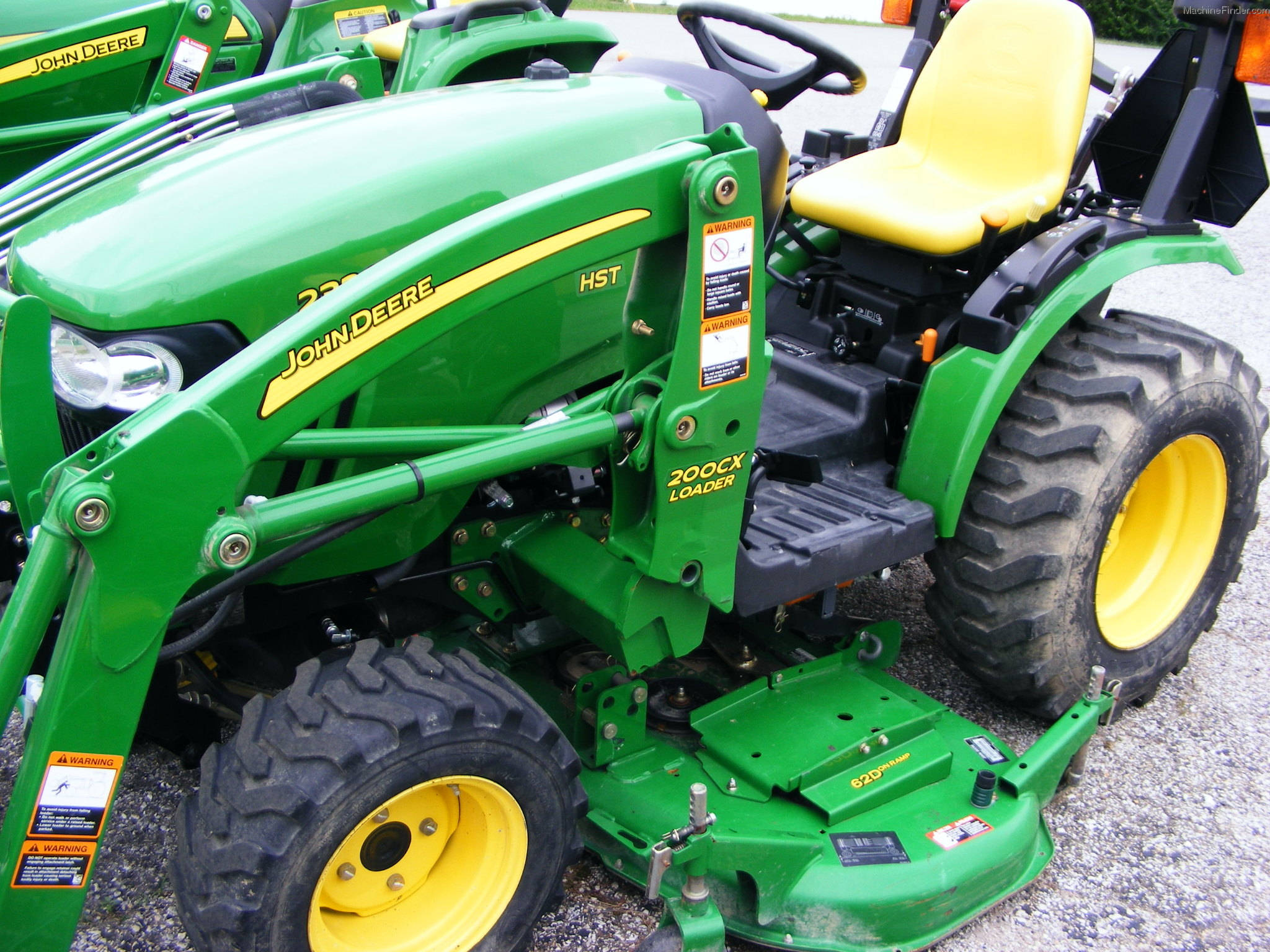 2009 john deere 2320 tractors compact 1 40hp john. Black Bedroom Furniture Sets. Home Design Ideas