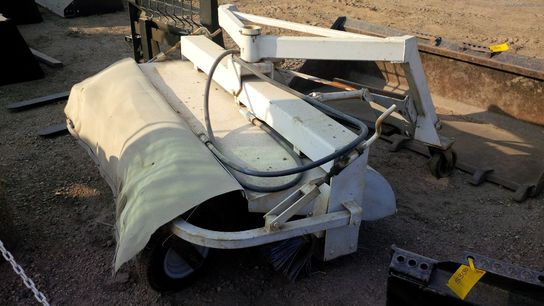 Bobcat Angle Broom Attachment Brooms Sweepers John