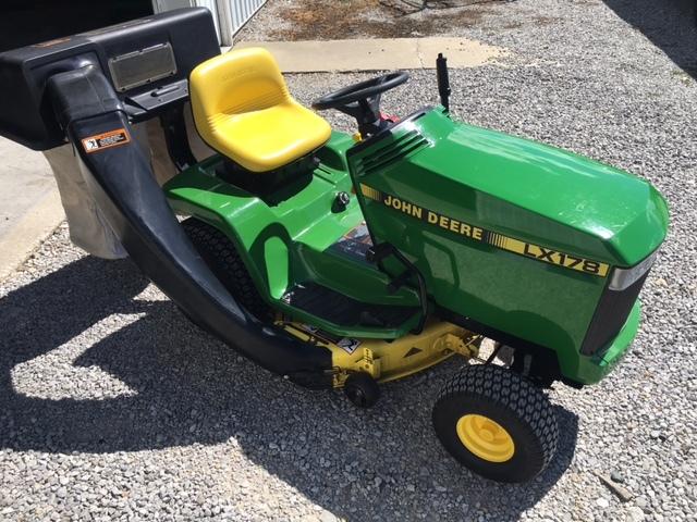 John Deere 178 Lawn Tractor : John deere lx lawn garden tractors for sale