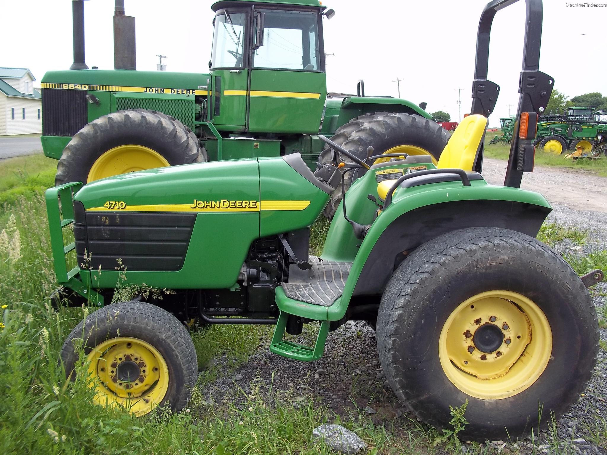 John Deere 4710 Compact Tractor : John deere tractors compact hp