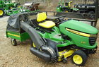 2009 John Deere X320 AND MC519