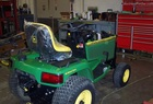 "1994 John Deere 425AWS All-Wheel-Steer with 54"" deck"