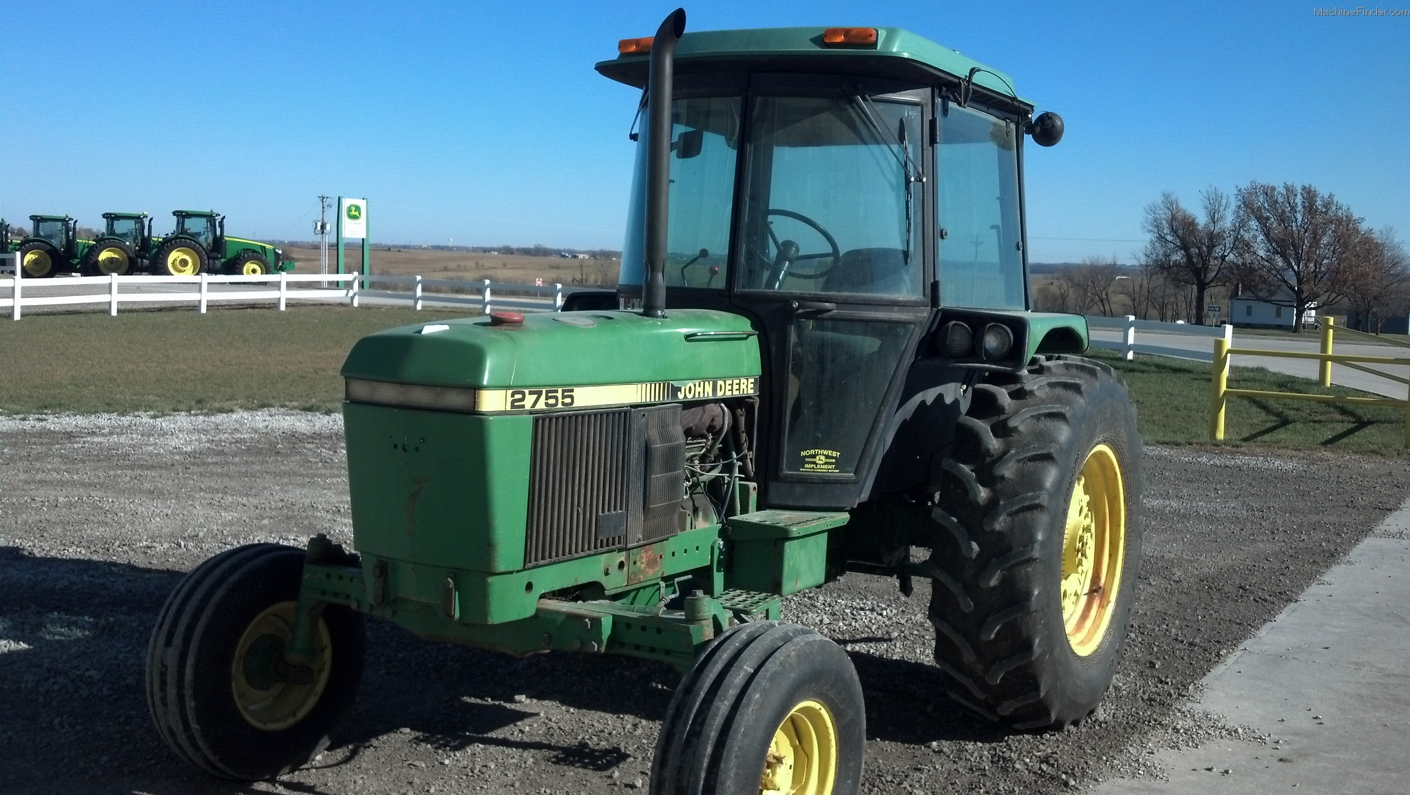 1990 John Deere 2755 Tractors Utility 40 100hp John