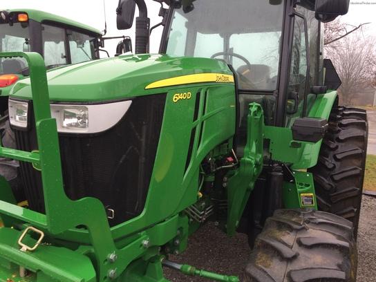 John Deere 6140d Specs : John deere d tractors utility hp