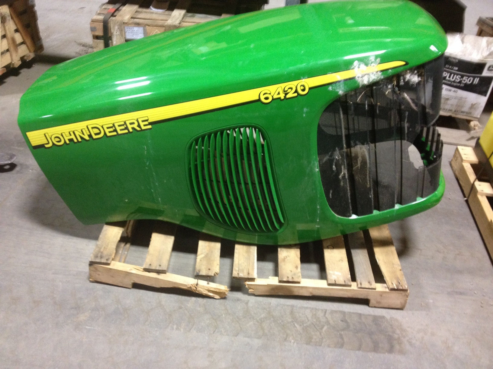 John Deere Front Hood : John deere hood miscellaneous tractor attachments for