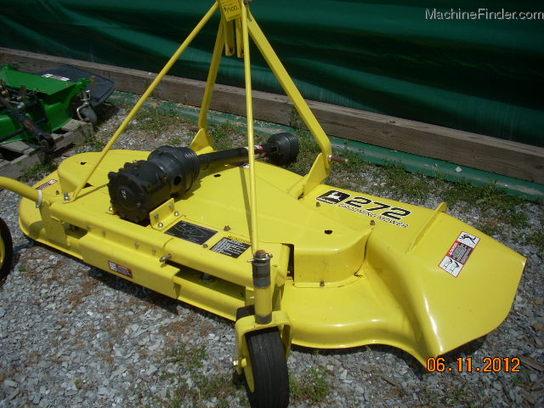 John Deere 261 Grooming Mower Parts