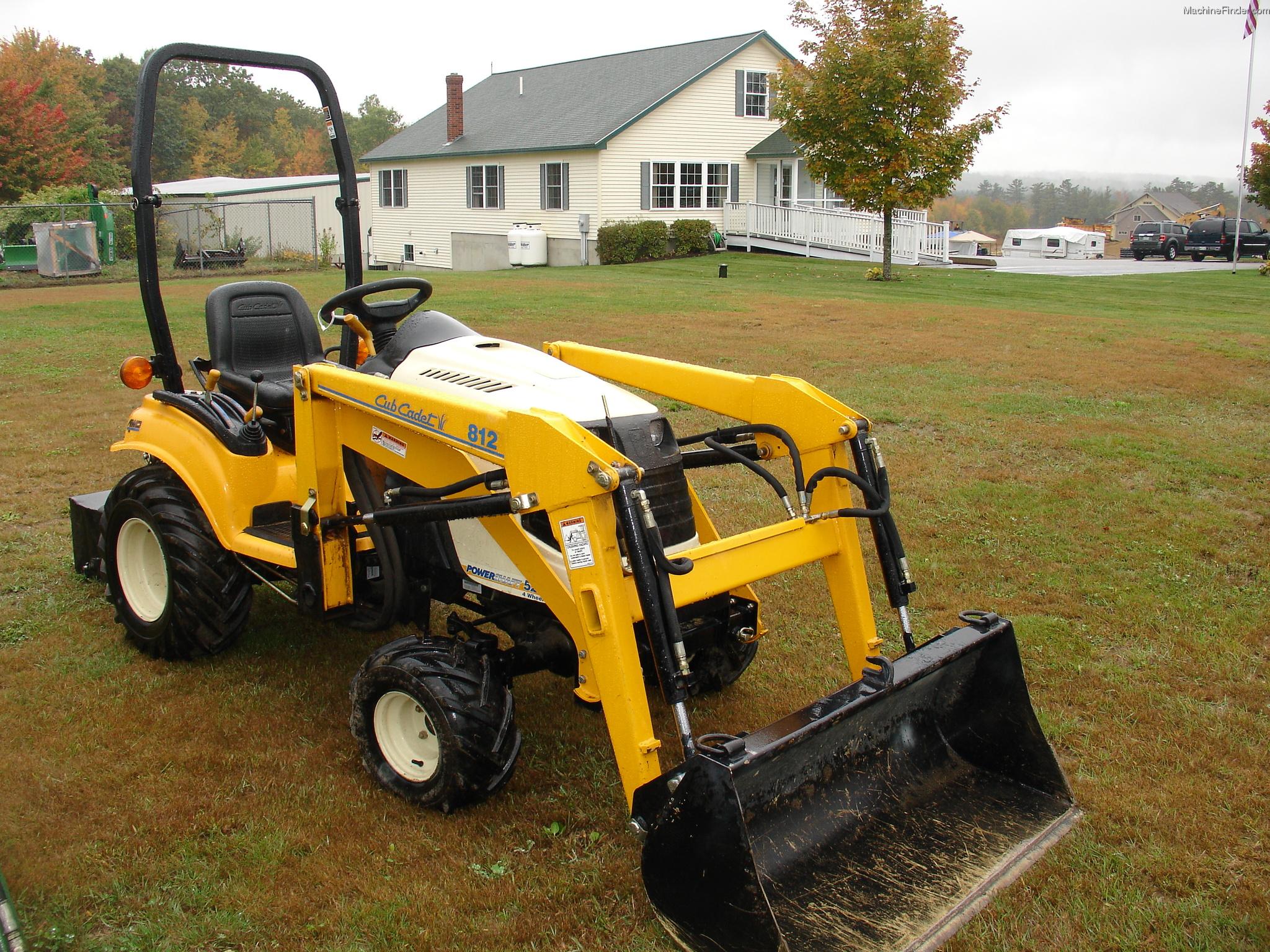 Cub Cadet Compact Tractors : Cub cadet d tractors compact hp john