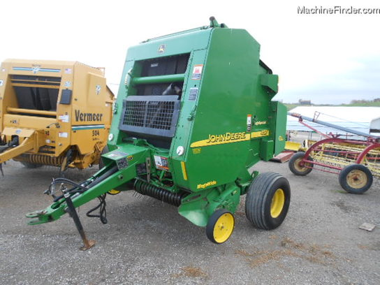 2002 John Deere 457 SILAGE SPECIAL WITH NET WRAP