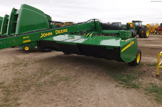 2012 John Deere 956 MOWER CONDITIONER PIVOT ROTARY