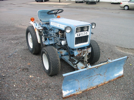 Ford 4000 Plow : Ford f tractors utility hp john