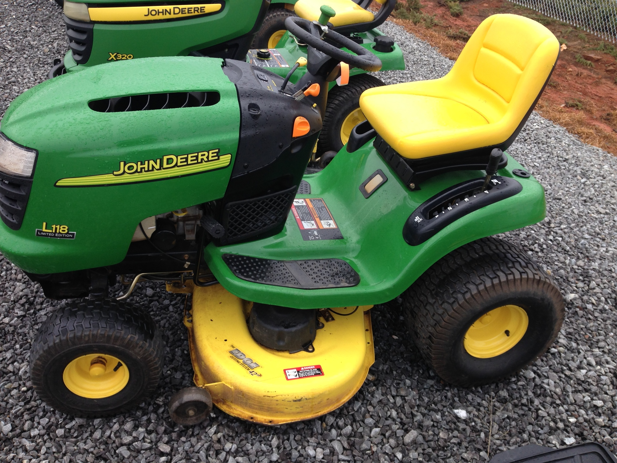 similiar john deere l lawn tractor attachments keywords 2004 john deere l118 lawn garden and commercial mowing john deere