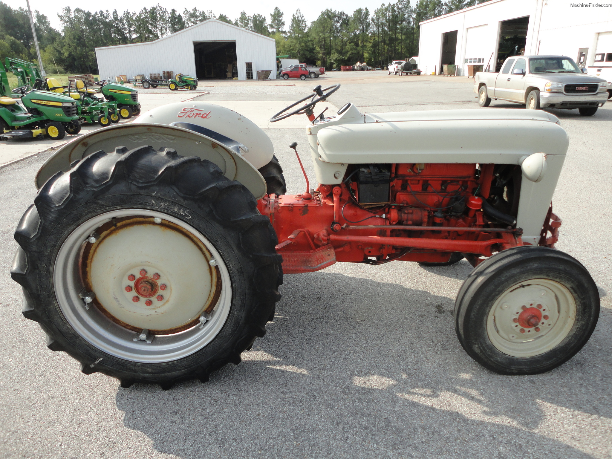 Ford Jubilee Parts : Ford jubilee tractor serial number location get