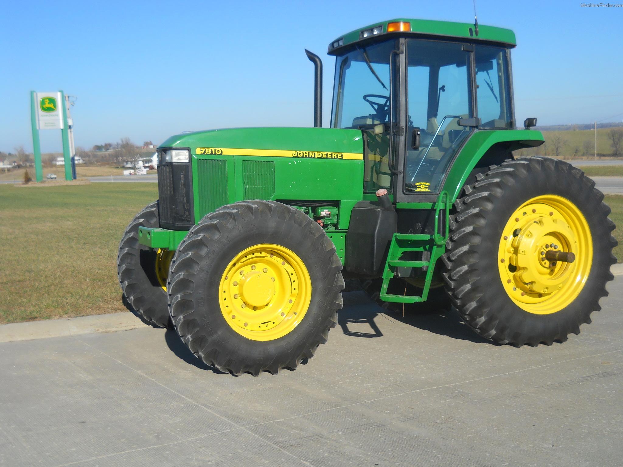 1998 John Deere 7810 Tractors Row Crop 100hp John