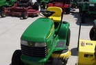 2000 John Deere LT155 Lawn Tractor with Freedom42 mulching mower...really nice outfit
