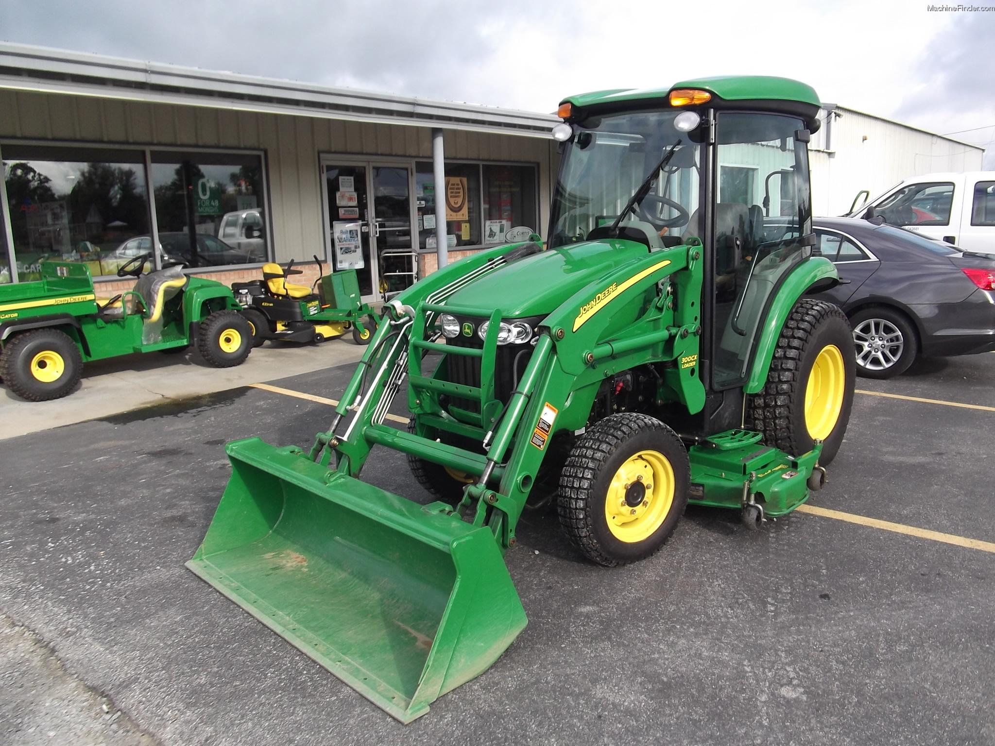 2009 John Deere 3720 Tractors - Compact (1-40hp.)