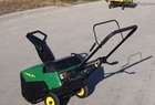 2000 John Deere TRS21 Snowthrower with electric start