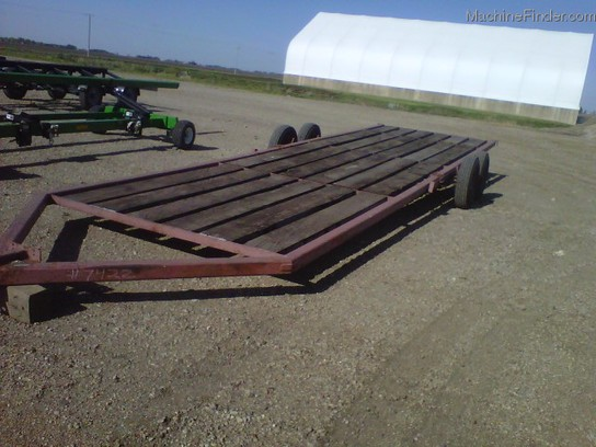 Donahue Trailers 8X28' IMPLEMENT TRAILER