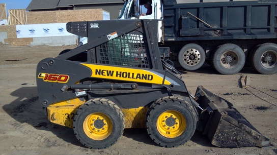 2010 New Holland L160