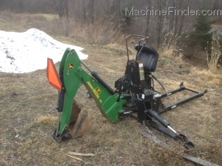 John Deere Jd 46 Backhoe