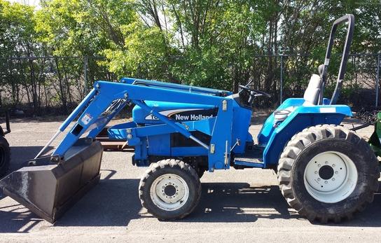 New Holland Compact Tractors Parts : New holland tc tractors compact hp john deere