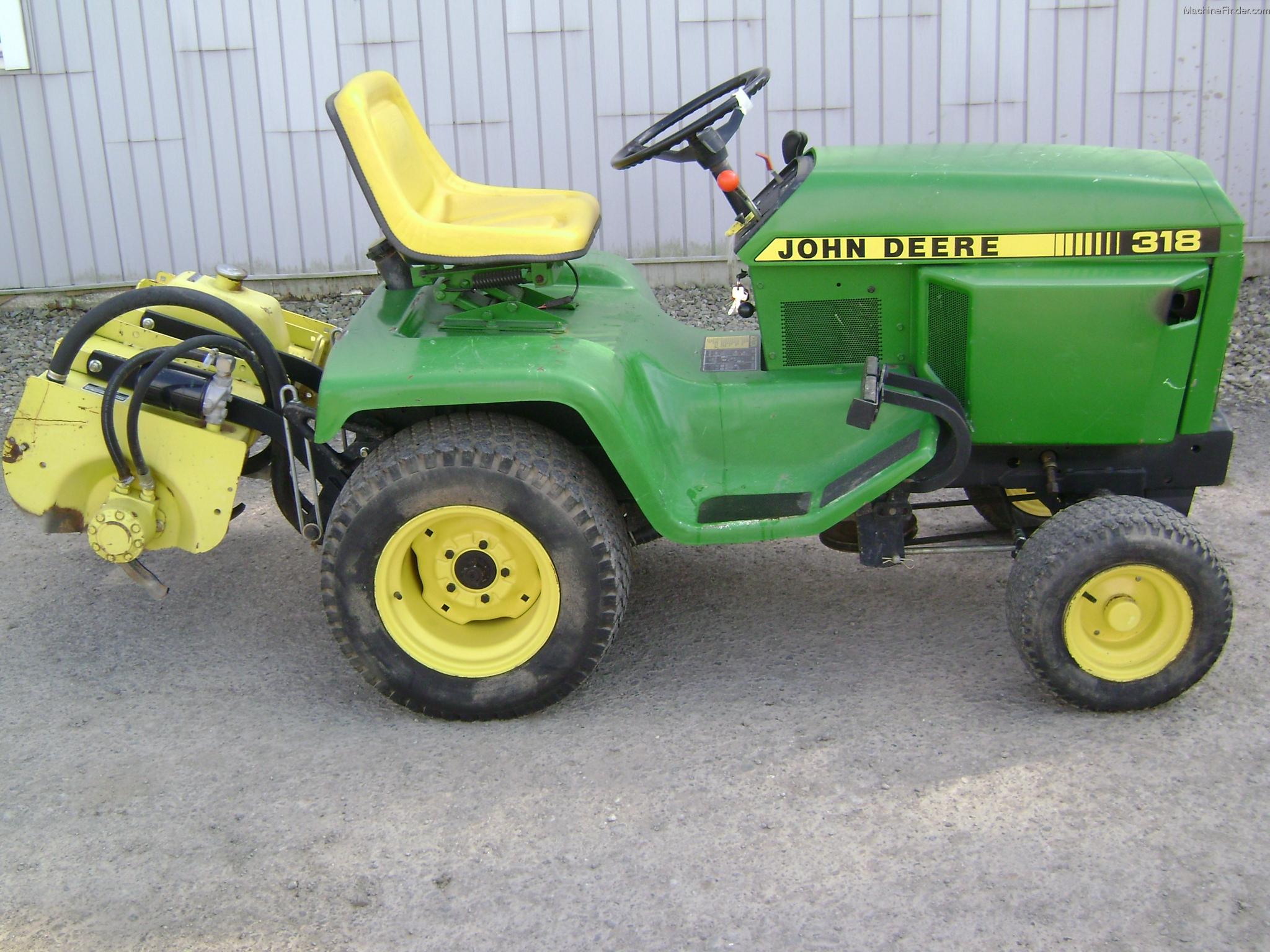 John Deere Garden Tiller : John deere lawn tractor tiller car interior design