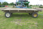 John Deere 14' FLAT RACK W/ JD GEAR