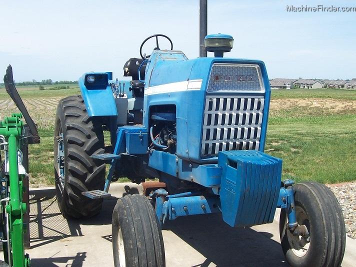 Ford Row Crop Tractors : Ford row crop tractor with cab tractors
