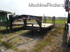 2012 Other QUALITY TRAILER 24ft PRO GRADE GOOSENECK 24ft WITH A 4ft DOVE TOOLBOX AND RAMPS