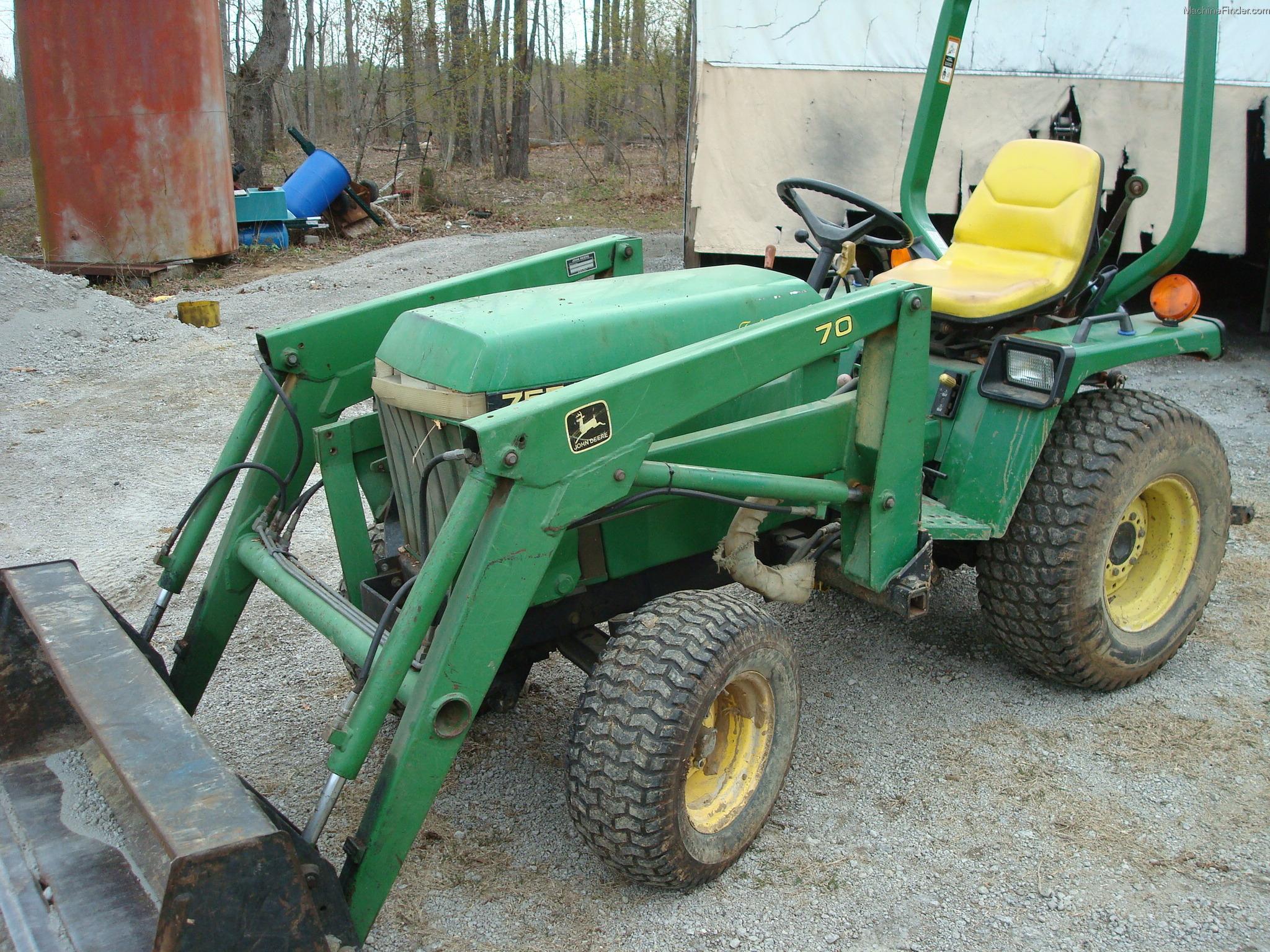 1993 john deere 755 tractors compact 1 40hp john deere machinefinder. Black Bedroom Furniture Sets. Home Design Ideas