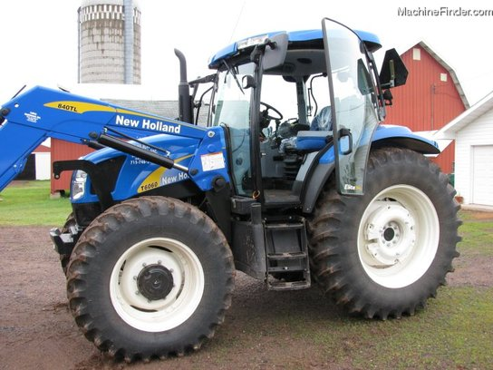 2008 New Holland T6060 Elite