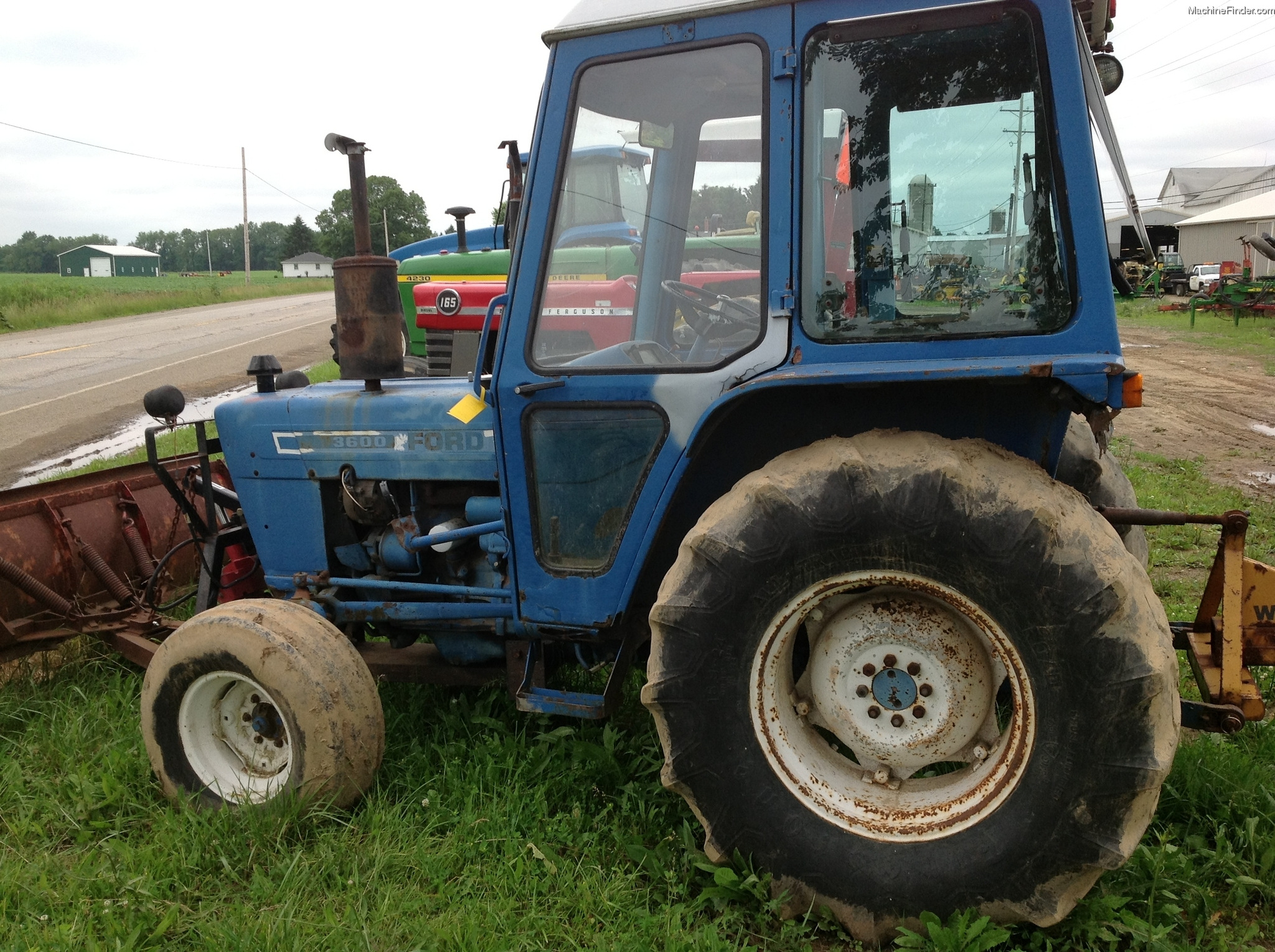 Ford 3600 Tractor : Ford tractor parts