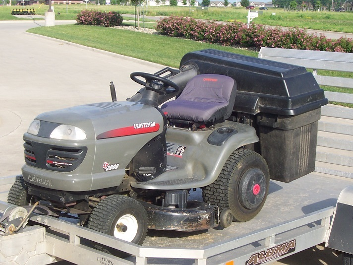 Craftsman lt2000 Lawn Tractor 17 5 hp Manual
