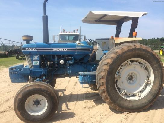 Ford Row Crop Tractors : Ford tractors row crop hp john deere