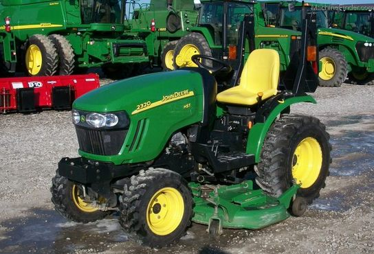 Jd 2320 Mower Adj : John deere tractors compact hp