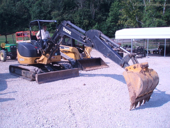 2008 John Deere 50D COMPACT EXCAVATOR AVAIL FOR RENT