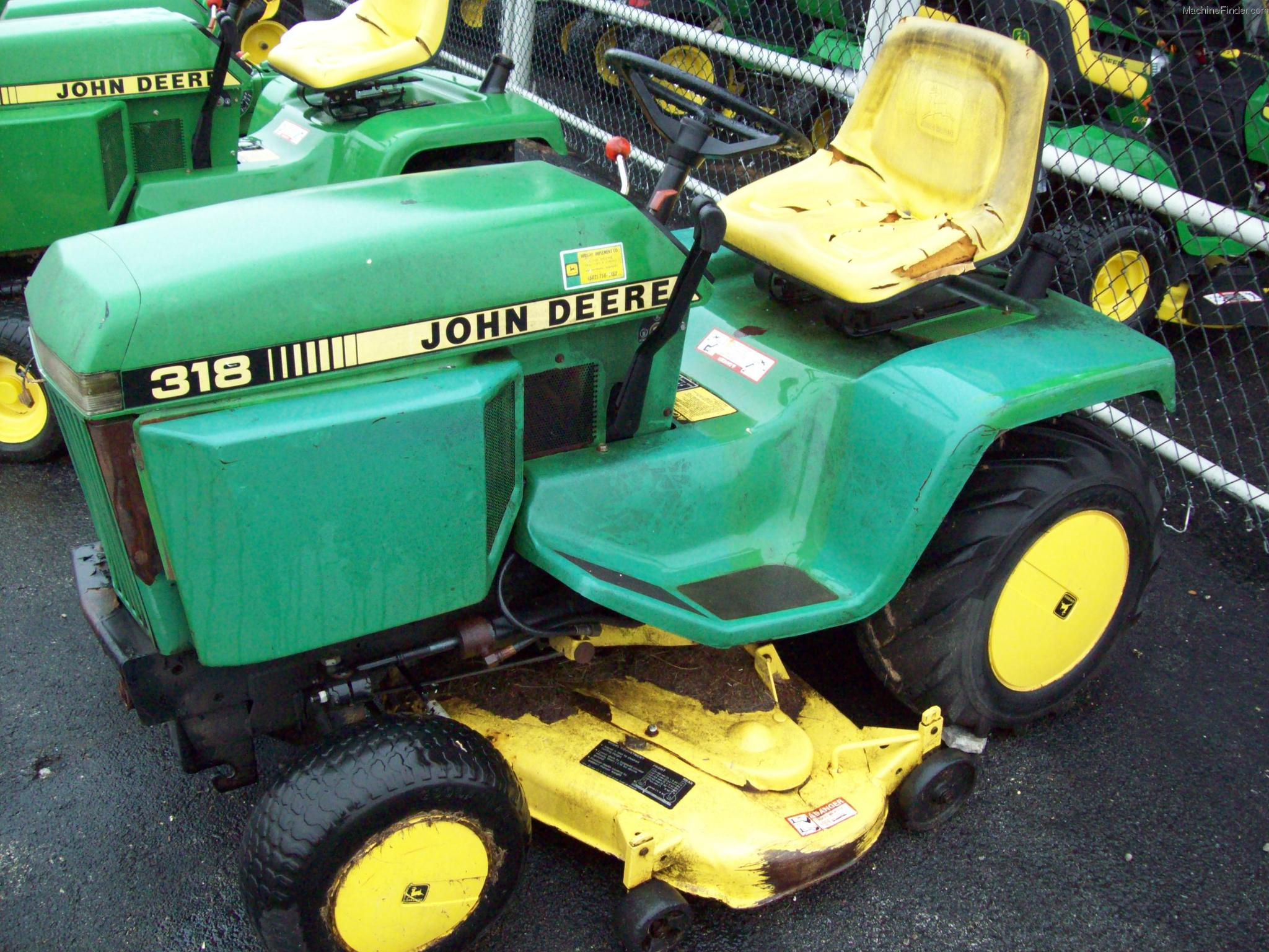 1990 John Deere 318 Lawn Amp Garden And Commercial Mowing